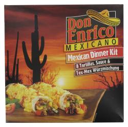 Don Enrico Mexican Dinner Kit  (510 g) - 4013200780241