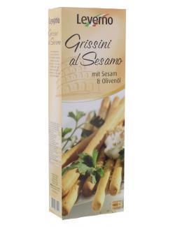 Leverno Grissini al Sesamo  (125 g) - 4013200332143