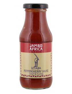 Jambo Africa Letaba Peppercherry Sauce  (250 ml) - 4013200500085