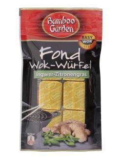 Bamboo Garden Fond Wok Würfel Ingwer Zitronengras  (6 St.) - 4023900542926