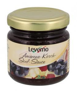 Leverno Amarena-Kirsch-Senf-Sauce  (90 ml) - 4013200331757