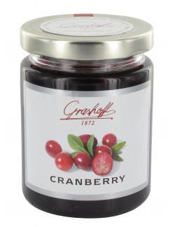 Grashoff Konfit�re extra Cranberry  (250 g) - 4006375000399