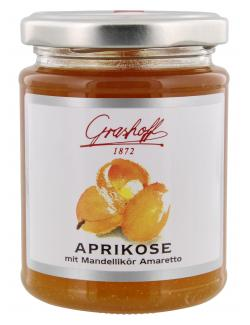 Grashoff Konfit�re extra Aprikose mit Amaretto - MHD 28.11.2016  (250 g) - 4006375000559