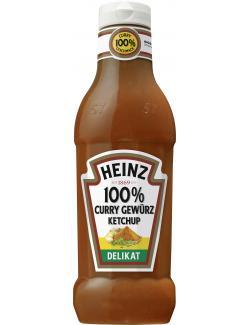 Heinz 100% Curry Gew�rz Ketchup delicat  (590 ml) - 8715700419596