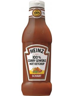 Heinz 100% Curry Gew�rz Hot Ketchup scharf  (590 ml) - 8715700419619