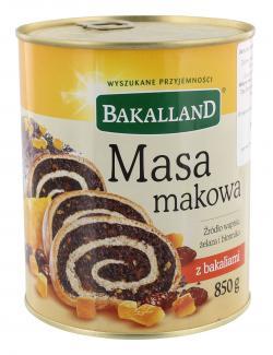 Bakalland Gezuckerte Mohnmasse  (850 g) - 5900749560016