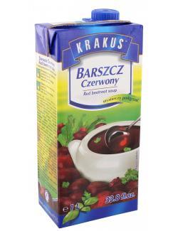 Krakus Rote-Beete Suppe  (1 l) - 5900059303440
