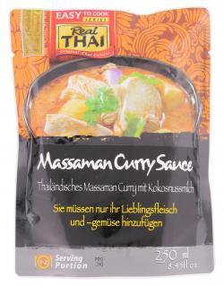 Real Thai Massaman Curry Sauce  (250 ml) - 8858135000103