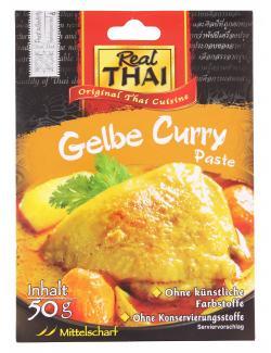 Real Thai Gelbe Curry Paste  (50 g) - 8858135001391