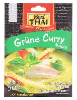 Real Thai Gr�ne Curry Paste  (50 g) - 8858135010027