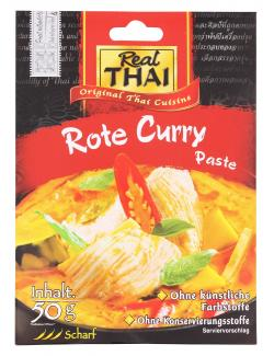 Real Thai Rote Curry Paste  (50 g) - 8858135010010