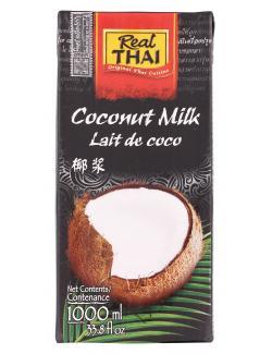 Real Thai Coconut Milk  (1 l) - 8858135000974