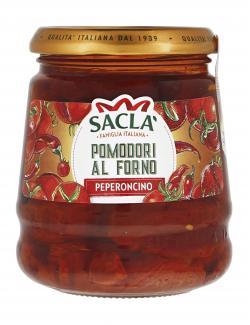 Sacla Pomodori al forno e peperoncino  (285 g) - 8001060014343