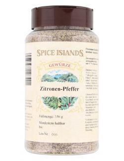 Spice Islands Zitronen-Pfeffer  (350 g) - 4003458128421
