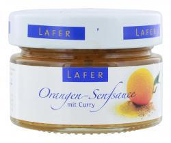 Johann Lafer Orangen-Senfsauce mit Curry  (125 g) - 4260125364074
