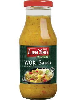 Lien Ying Wok-Sauce Ananas-Curry  (240 ml) - 4013200882808