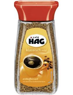 Café Hag Klassisch mild löslicher Kaffee entkoffeiniert  (100 g) - 4000550213000