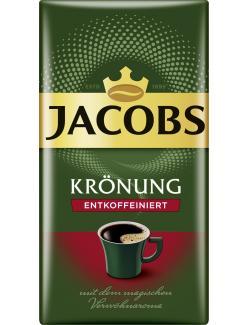 Jacobs Kr�nung entkoffeiniert  (500 g) - 7622300002282