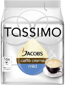 Tassimo Jacobs Caff� Crema mild  (89,60 g) - 7622210010322