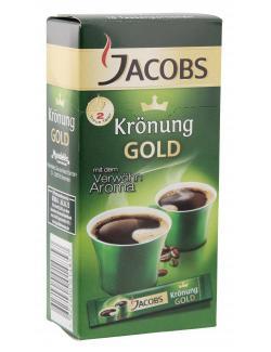 Jacobs Krönung Gold 10 Tassenportionen 9,94 EUR/100 g 528394