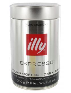 Illy Espresso Dark Roast  (250 g) - 8003753900469