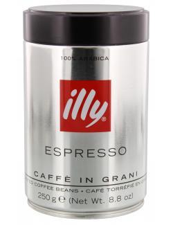Illy Espresso Caffé in Grani  (250 g) - 8003753918198