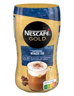 Nescaf� Cappuccino weniger s��  (250 g) - 7613032569556