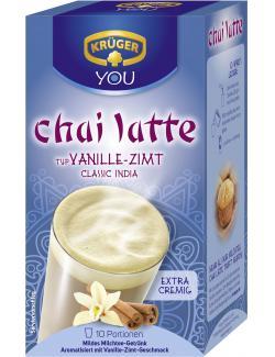 Kr�ger Chai Latte classic India Vanille-Zimt  (10 x 25 g) - 4052700079097