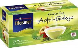 Me�mer Gr�ner Tee Apfel-Ginkgo  (25 x 1,75 g) - 4002221004320