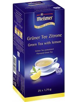 Me�mer ProfiLine Gr�ner Tee Zitrone  (25 x 1,75 g) - 4002221001909