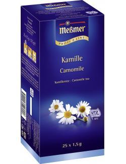 Meßmer ProfiLine Kamille  (25 x 1,50 g) - 4002221002944