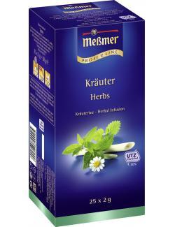 Me�mer ProfiLine Kr�uter  (25 x 2 g) - 4002221010338
