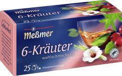 Meßmer 6-Kräuter-Mischung  (25 x 2 g) - 4001257160000