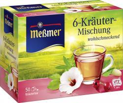 Me�mer 6-Kr�uter  (50 x 2 g) - 4002221016255