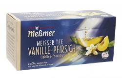Me�mer Wei�er Tee Vanille-Pfirsich  (25 x 1,40 g) - 4002221009288