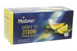 Me�mer Gr�ner Tee Zitrone  (25 x 1,75 g) - 4001257283501