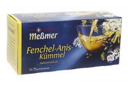 Meßmer Fenchel-Anis-Kümmel  (25 x 2 g) - 4002221009325