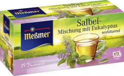 Me�mer Salbei-Mischung mit Eukalyptus  (25 x 1,75 g) - 4002221014015