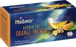 Me�mer Gr�ner Tee Orange-Ingwer  (25 x 1,75 g) - 4002221015128