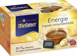 Me�mer Energie Ingwer-Holunderbl�te  (20 x 2 g) - 4002221011298