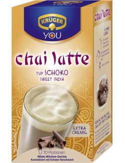 Krüger Chai Latte Sweet India Typ Schoko  (10 x 25 g) - 4052700083421