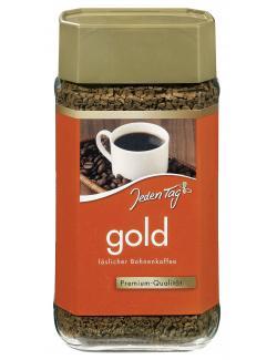 Jeden Tag Gold Löslicher Bohnenkaffee  (100 g) - 4306188053118