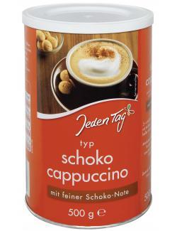 Jeden Tag Schoko Cappuccino  (500 g) - 4306188055662