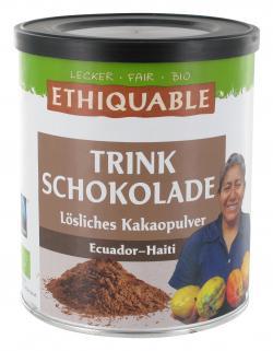 Ethiquable Trinkschokolade l�sliches Kakaopulver  (500 g) - 4250451630066