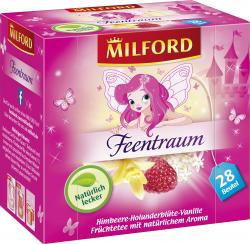Milford Feentraum Himbeere-Holunderbl�te-Vanille Tee  (28 x 2,50 g) - 4002221025219