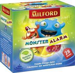Milford Monsteralarm Traube-Orange-Apfel Tee  (28 x 2,50 g) - 4002221025233