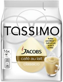 Tassimo Jacobs Caf� au lait classico  (184 g) - 7622210151124