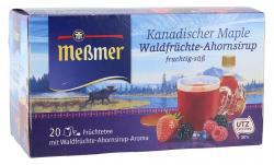 Me�mer Kanadischer Maple Waldfr�chte-Ahornsirup  (20 x 2,25 g) - 4002221027084