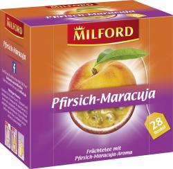 Milford Pfirsich-Maracuja  (28 x 2,25 g) - 4002221026964