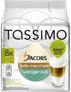 Tassimo Jacobs Latte Macchiato weniger süß  (236 g) - 7622210439550
